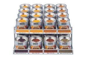 Sikkens timber stain sample pots