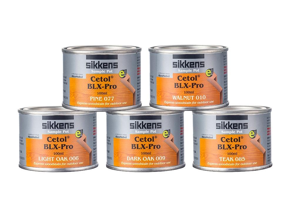 Colour tester pots
